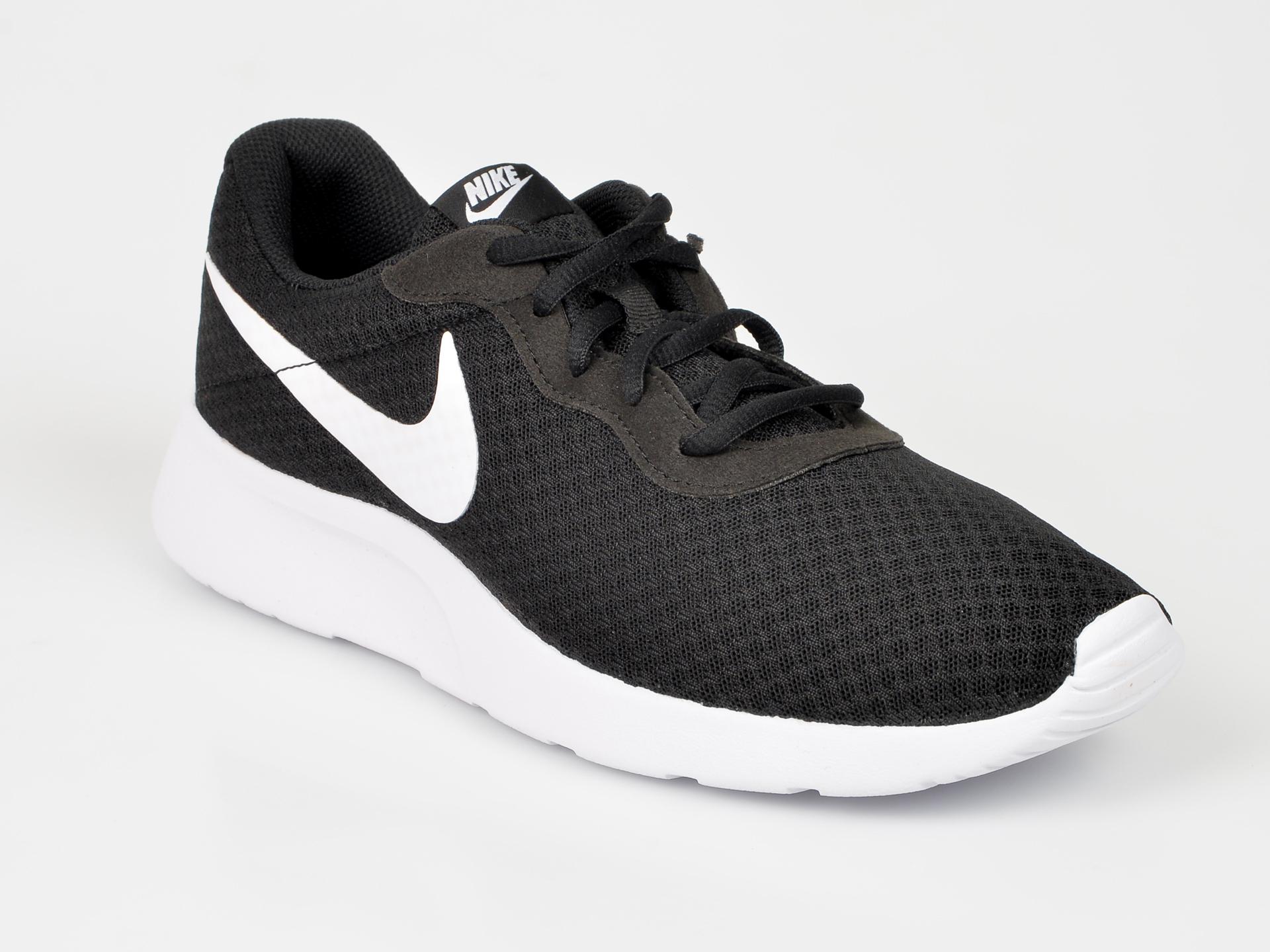 Pantofi sport NIKE negri, 812654, din piele ecologica