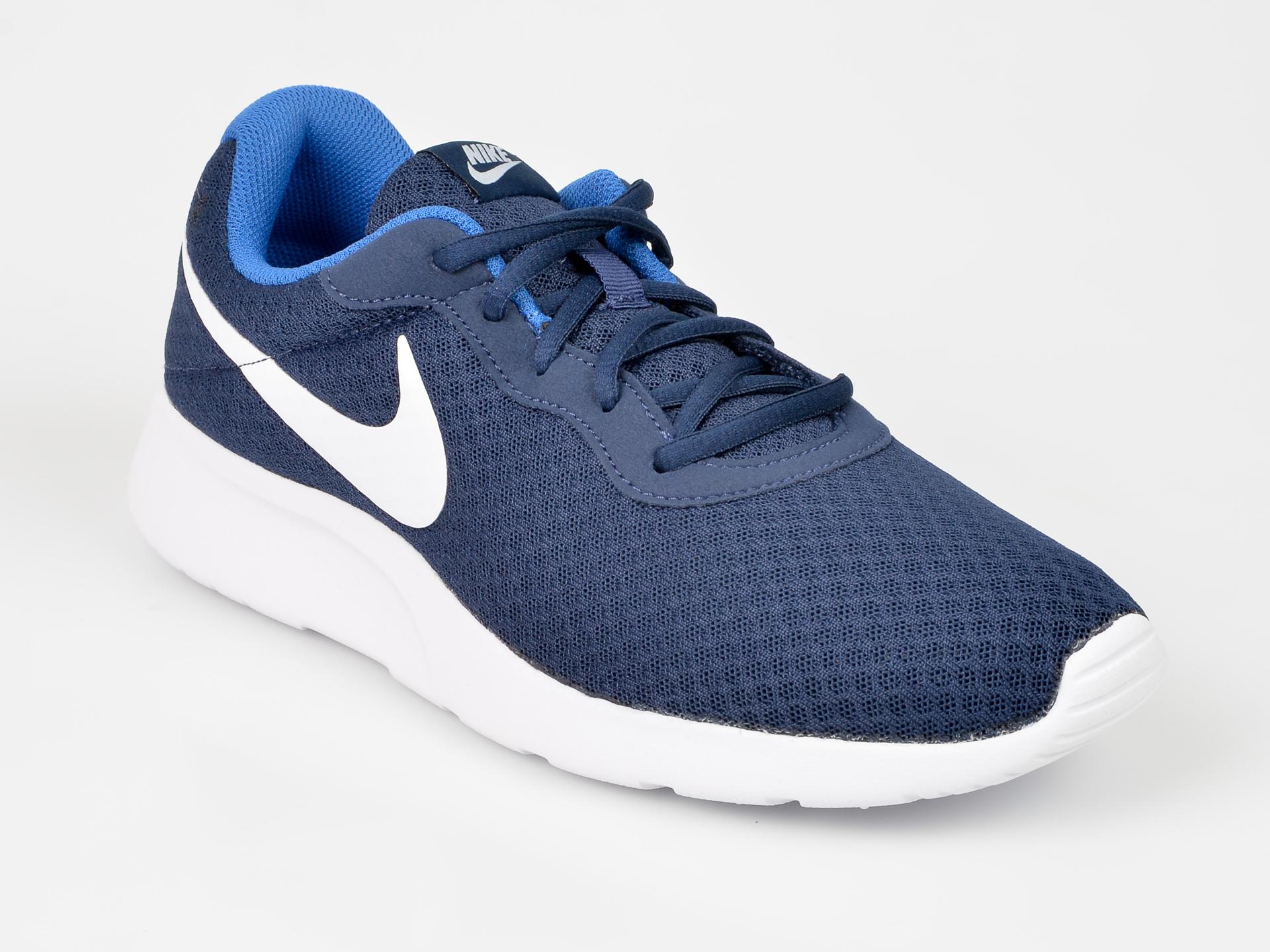 Pantofi sport NIKE bleumarin, 812654, din piele ecologica