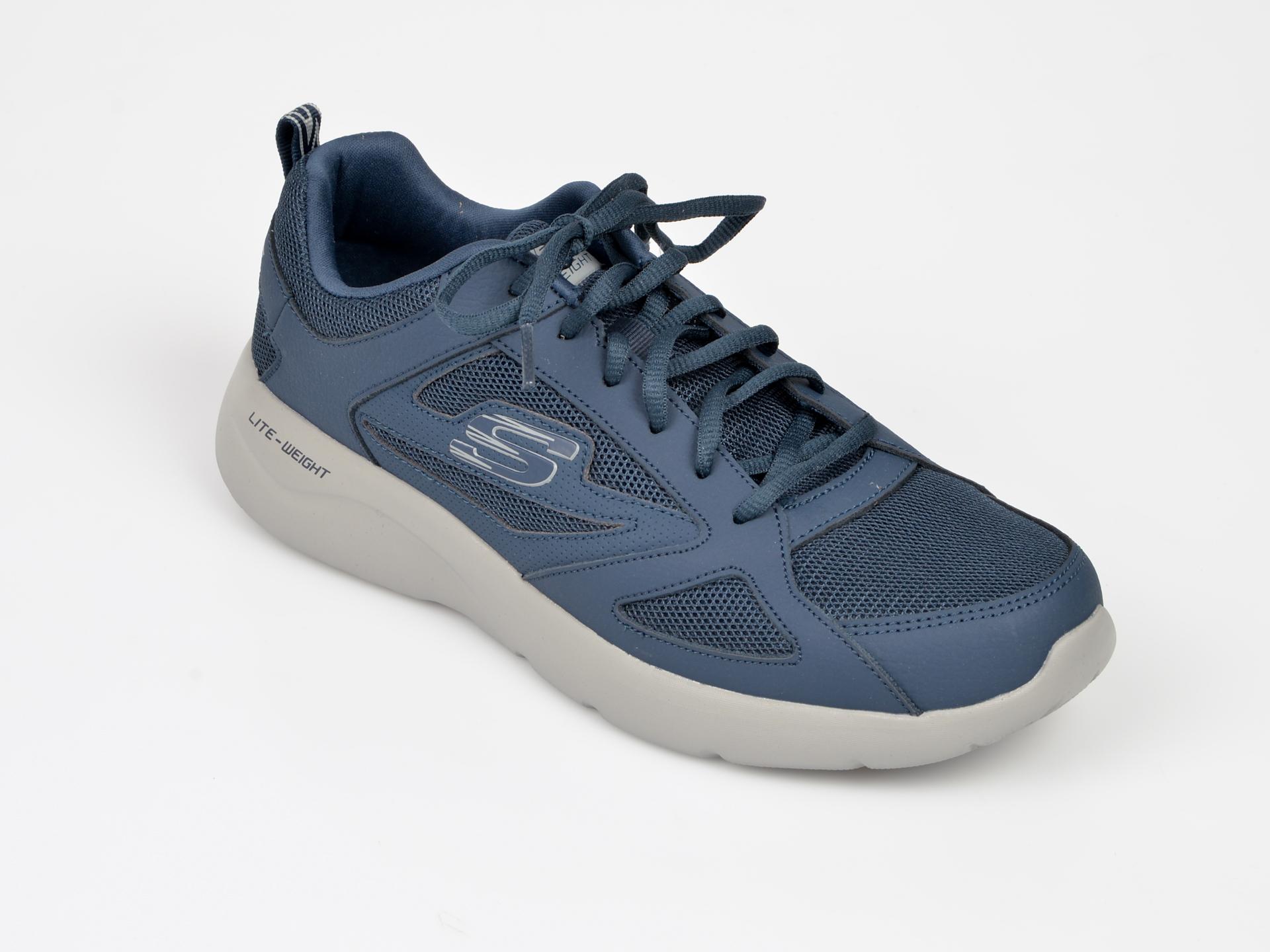 Pantofi sport SKECHERS bleumarin, 58363, din material textil